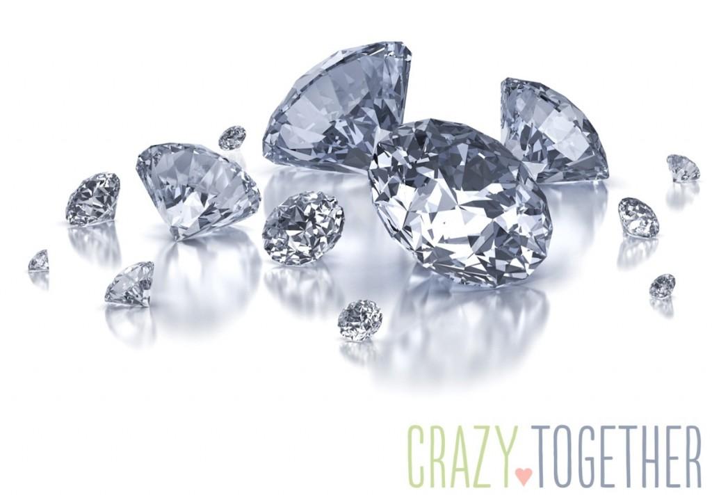 Different Sized Diamonds