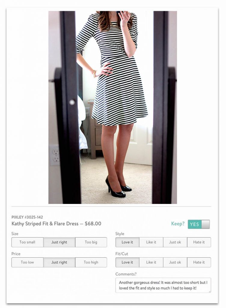 how to get the best clothes from Stitch Fix - leave detailed feedback