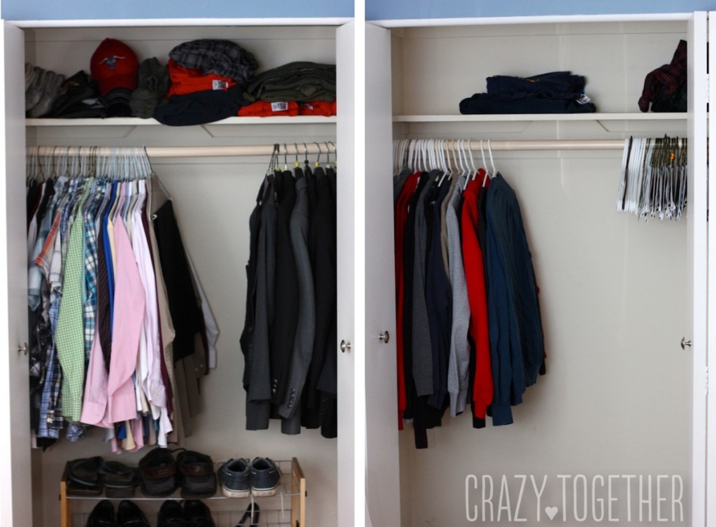 Rob's empty closets
