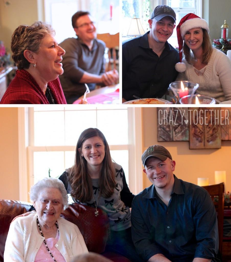 Maria's family Christmas celebration