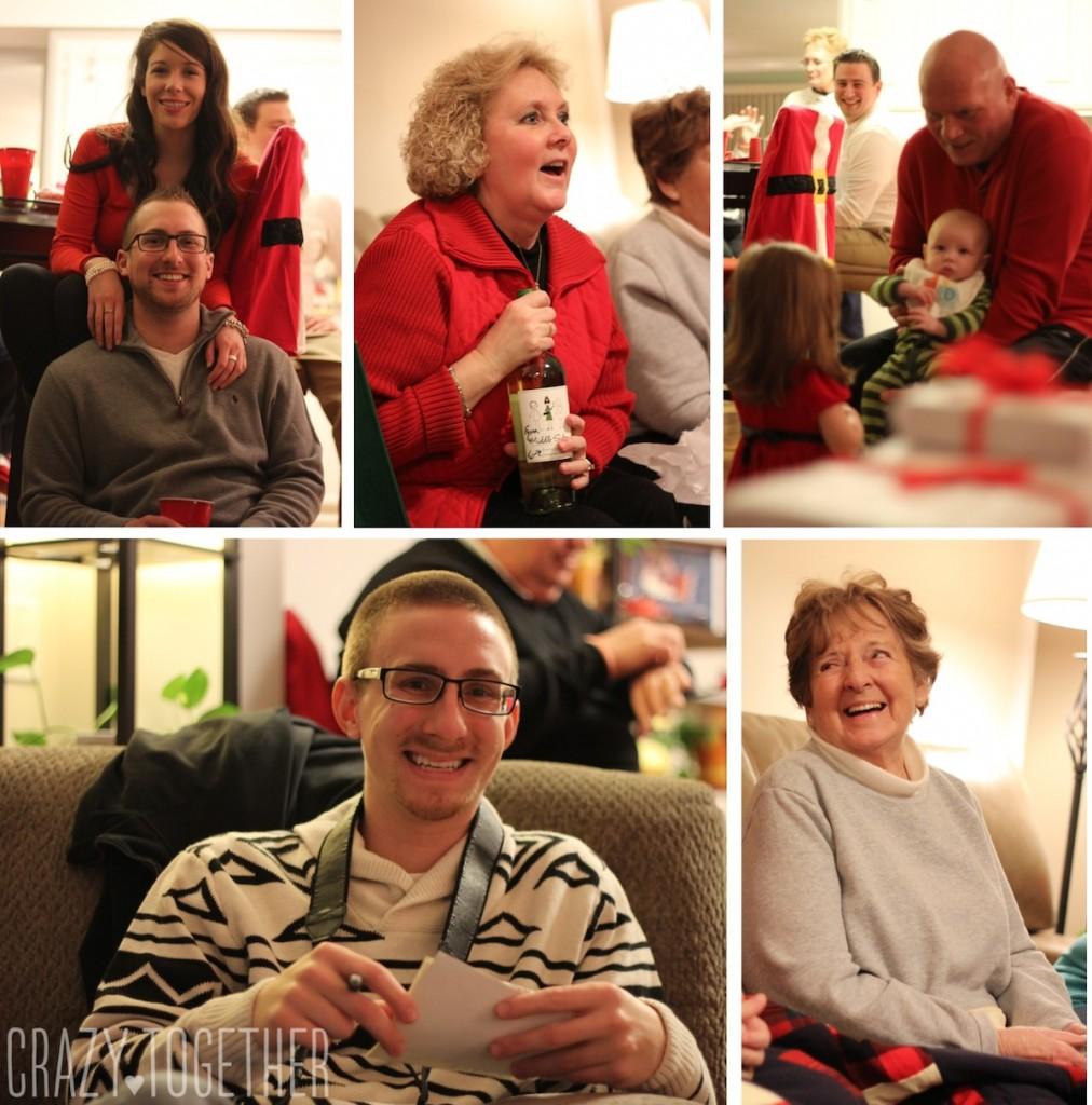 Rob's family Christmas celebration