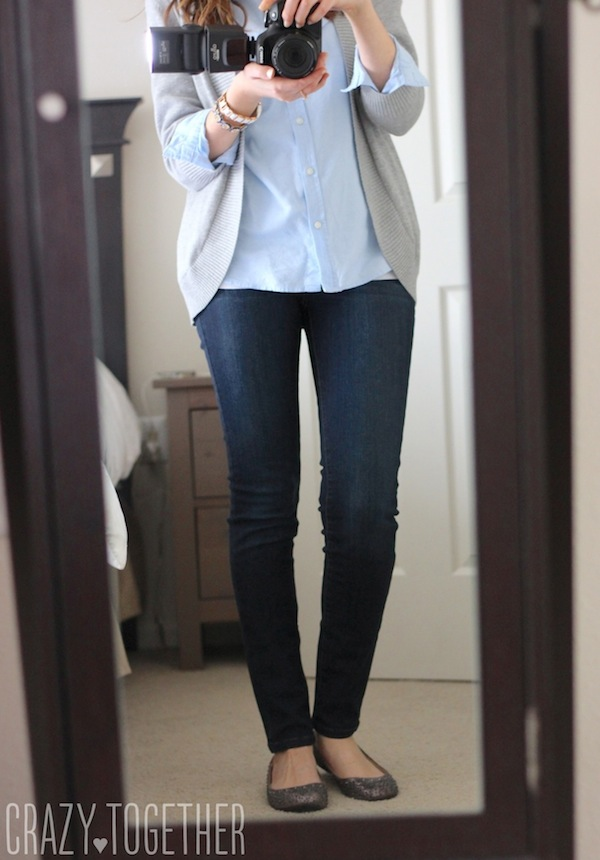 Sophia Skinny jeans from Kensie - Stitch Fix December 2014 review
