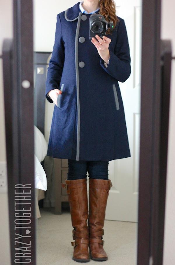 Adira Three Button Long Coat from Stitch Fix