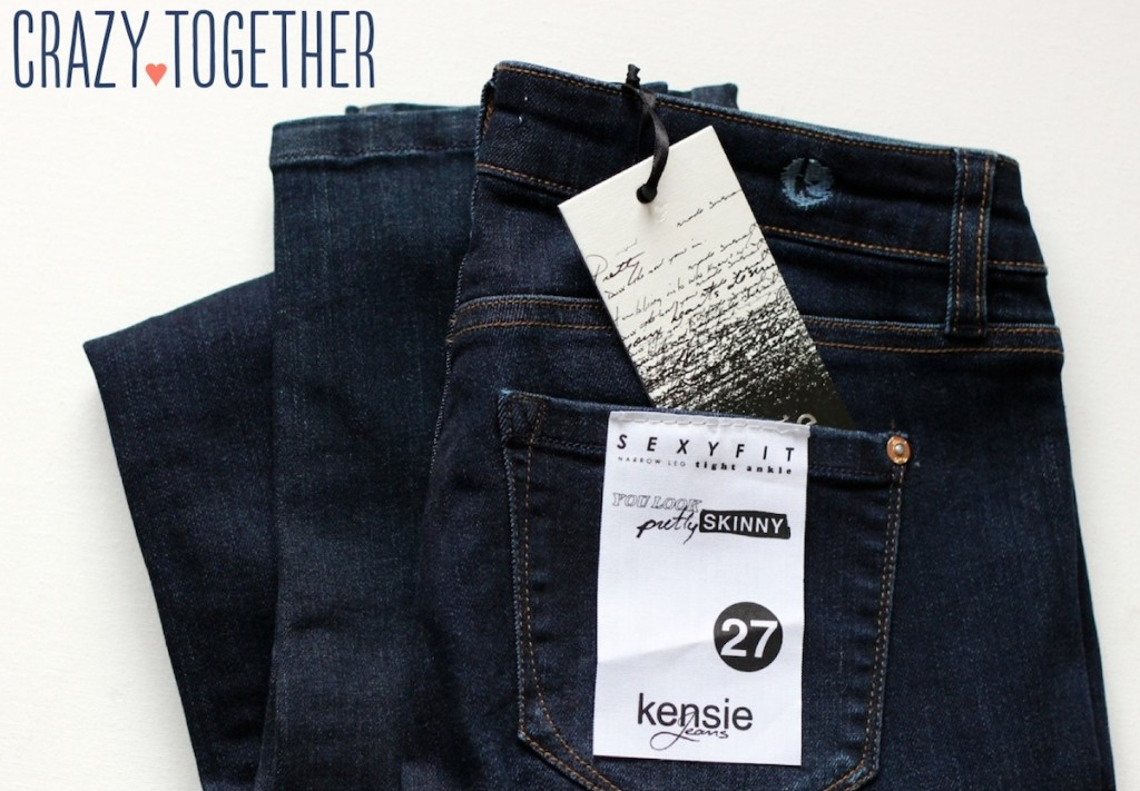 Sophie Skinny Jeans from Kensie - Stitch Fix December 2014 blog review