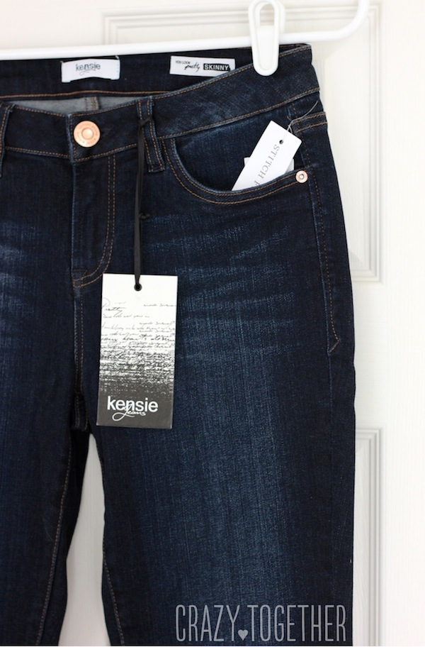 Sophie Skinny Jeans from Kensie - Stitch Fix blog review
