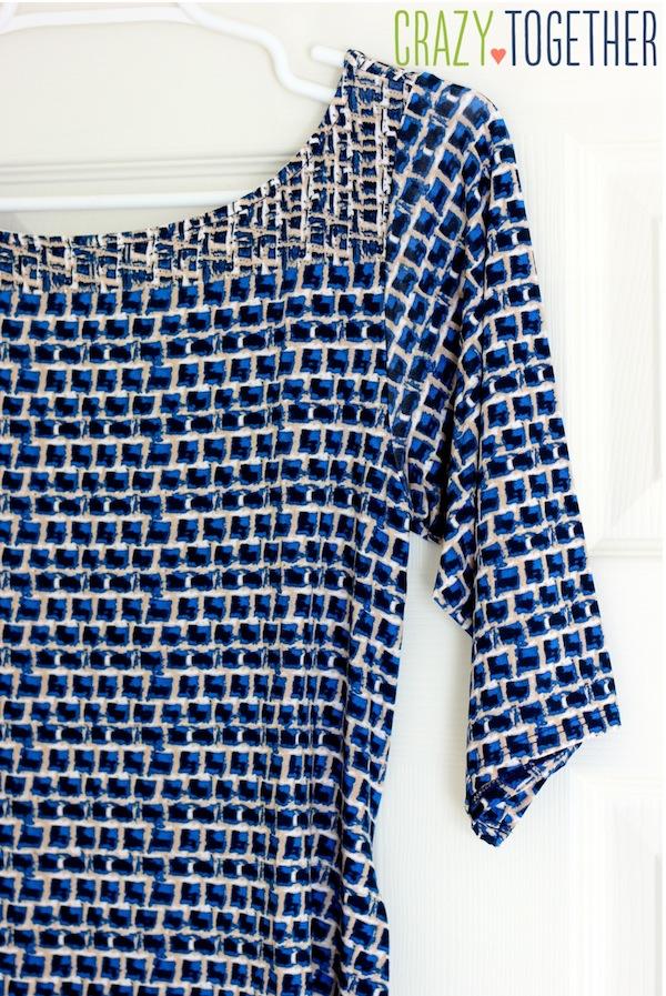 Kerri Abstract Print Sheath Dress from Leota - January 2015 Stitch Fix review #stitchfix