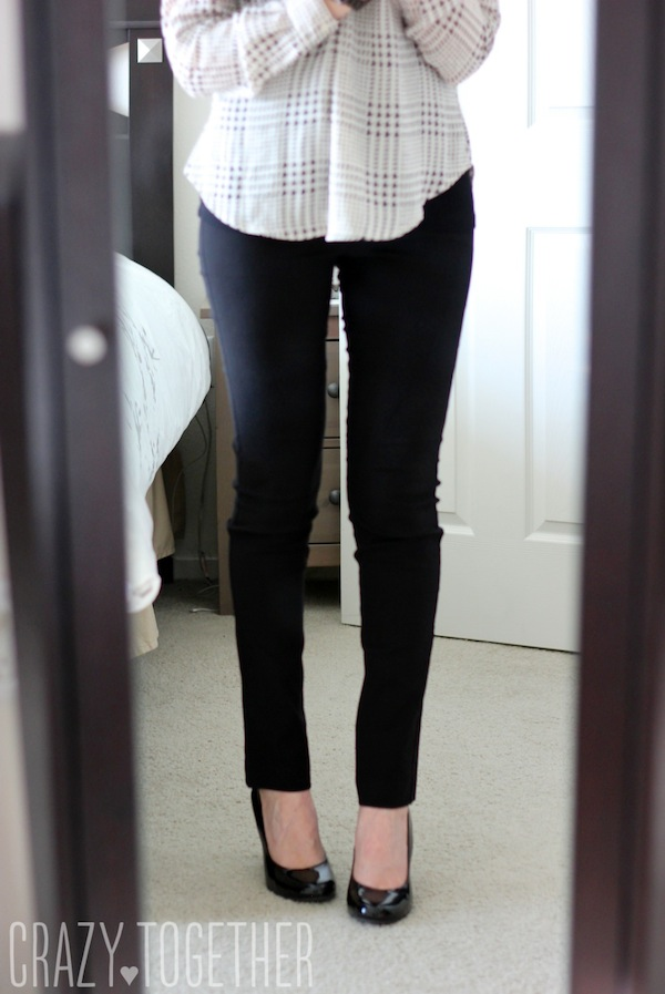 Emer High Waisted Tall Trouser pants from Margaret M - January 2015 Stitch Fix review #stitch fix