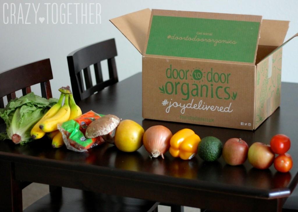 Door to Door Organics delivers organic food right to your door