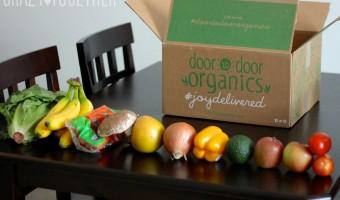 Door to Door Organics = Grocery Heaven