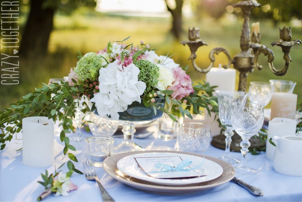 I also bid adieu to the gorgeous glass plates I had seen as place settings in all of my favorite photos. They were simply out of our budget. Wedding Table & Planning Our Wedding on a Budget