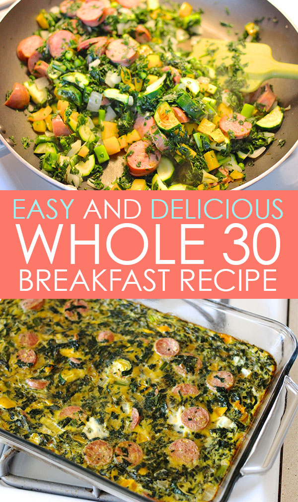 Easy and delicious Whole 30 Breakfast Recipe