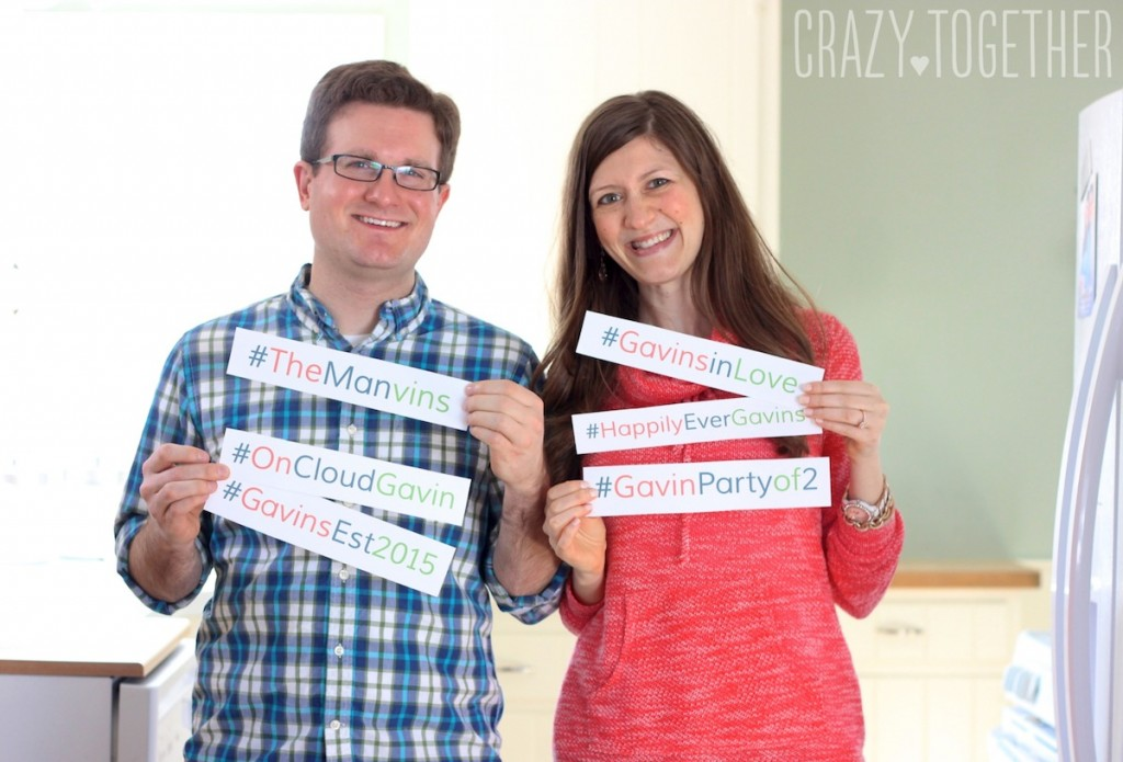 Wanted: the perfect wedding hashtag crazy together