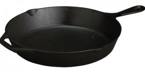 Lodge Cast Iron Round Skillet
