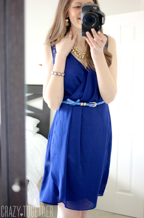 blue Uttam Sallie Dress from Stitch Fix #stitchfix #fashion