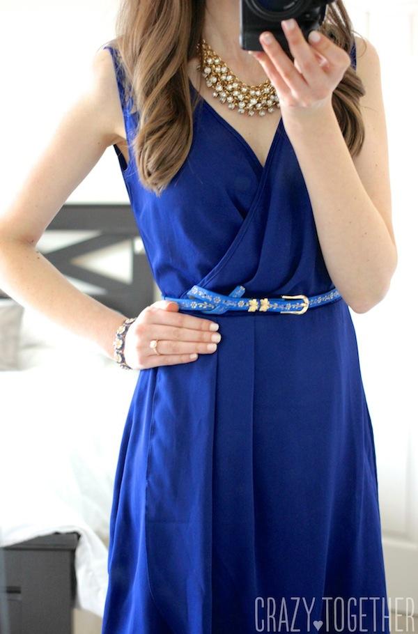 blue Uttam Sallie Dress from Stitch Fix #stitchfix #fashion