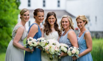 Wedding Wednesday: Vintage Chic Bridesmaid Attire