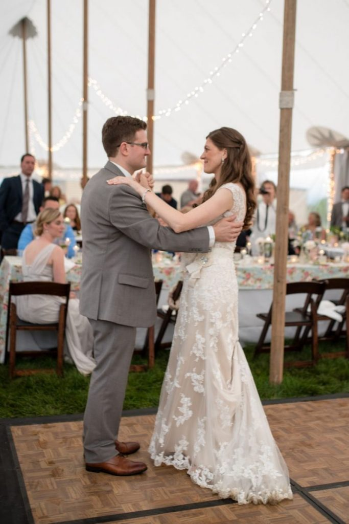 First Dance! vintage outdoor wedding ideas #vintagewedding #wedding
