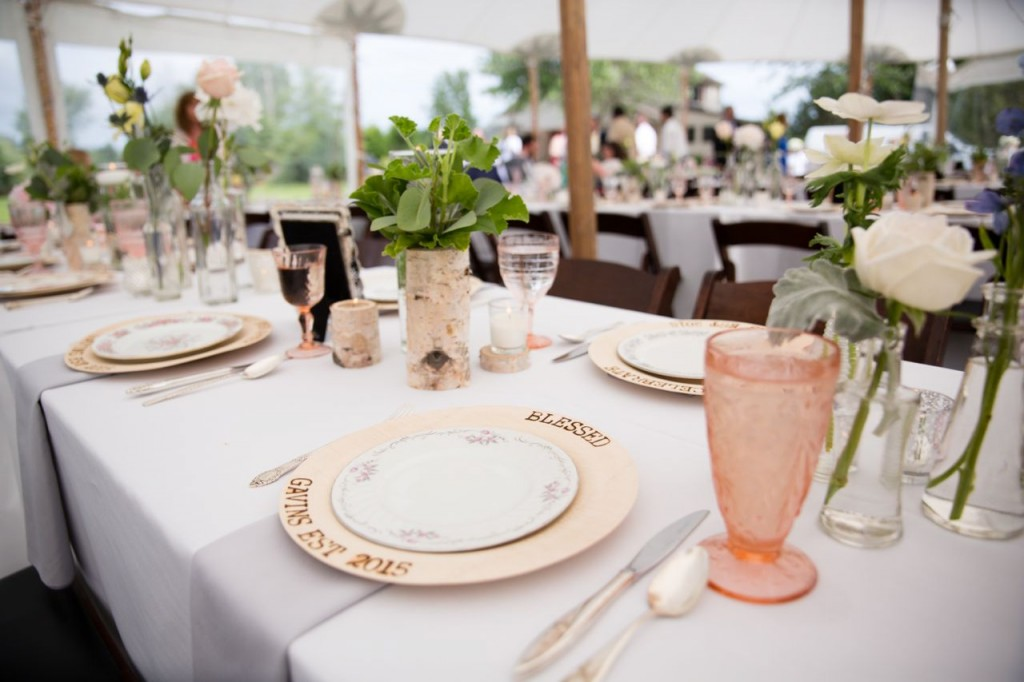 vintage wedding dinner ideas