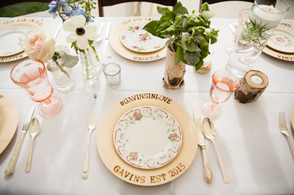 Vintage Wedding Tableware