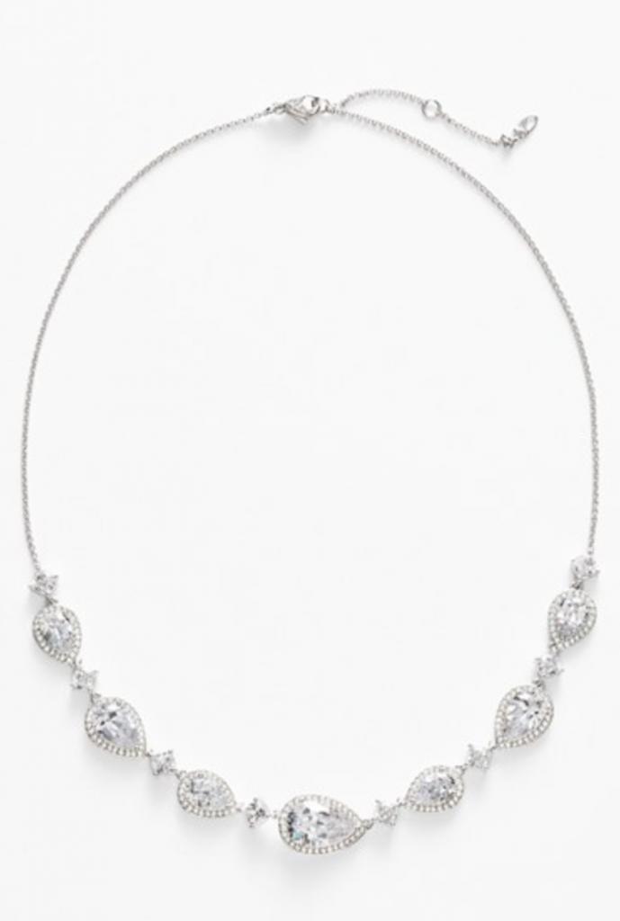 nadri cubic zirconia wedding necklace