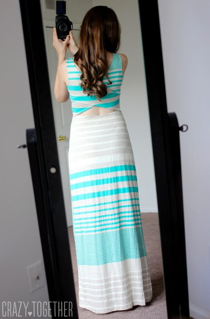 light green Mitchel Maxi Dress from Gilli - July Stitch Fix Review