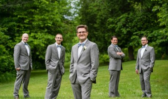 Wedding Wednesday: Groomsmen's Suits and Accessories