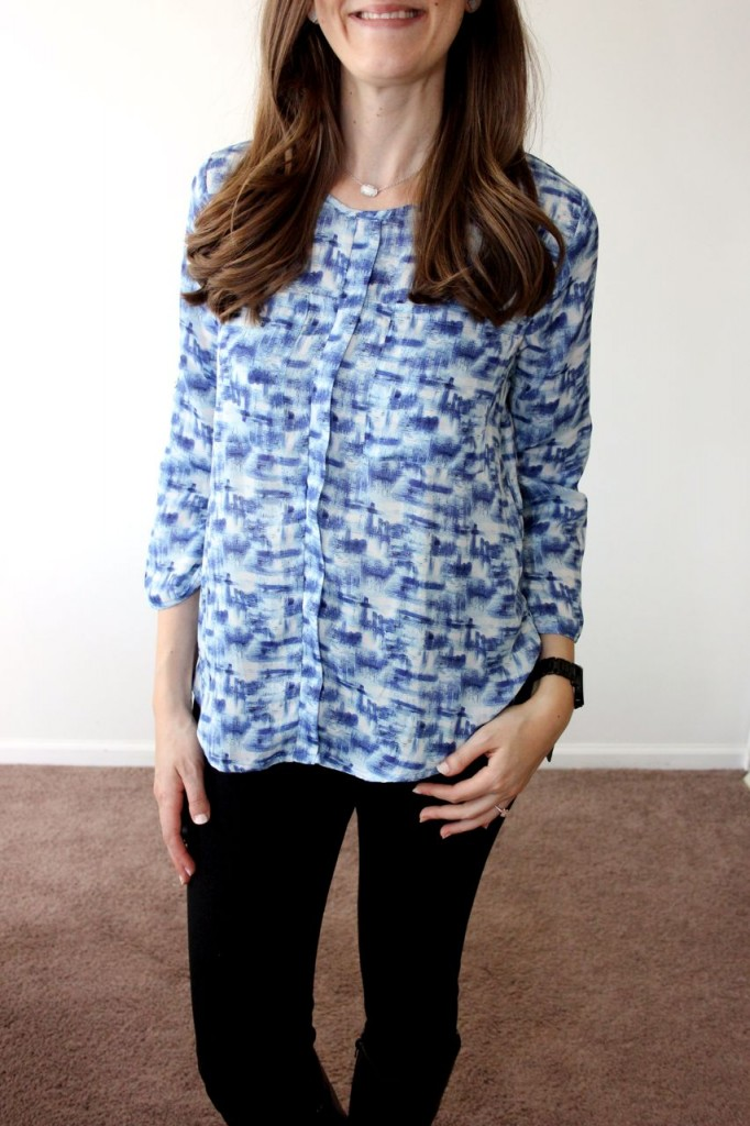 Wynn Front Pocket Blouse from Papermoon - Stitch Fix