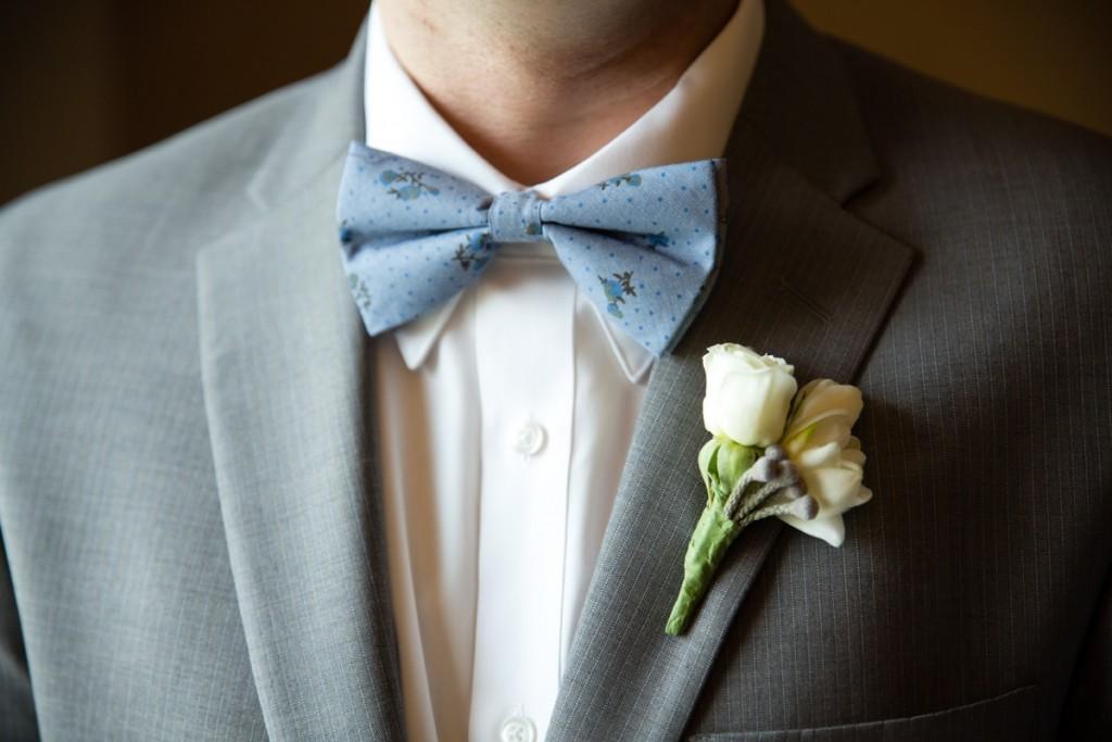 Joseph Slim Fit suit taupe blue pinstripe