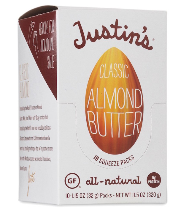 Justin's squeeze classic almond butter