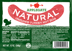 Applegate Natural Turkey Hot Dog