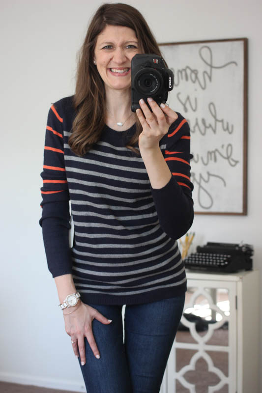 Lizzy Colorblock Striped Sweater from 41Hawthorn - Stitch Fix