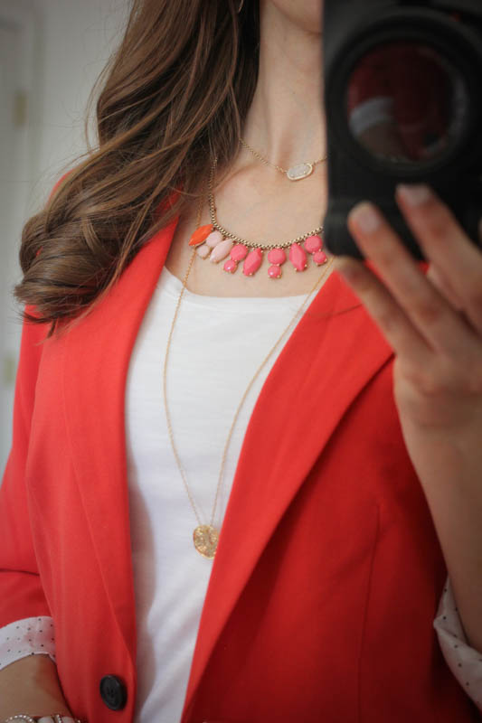 stacked necklaces from Rocksbox