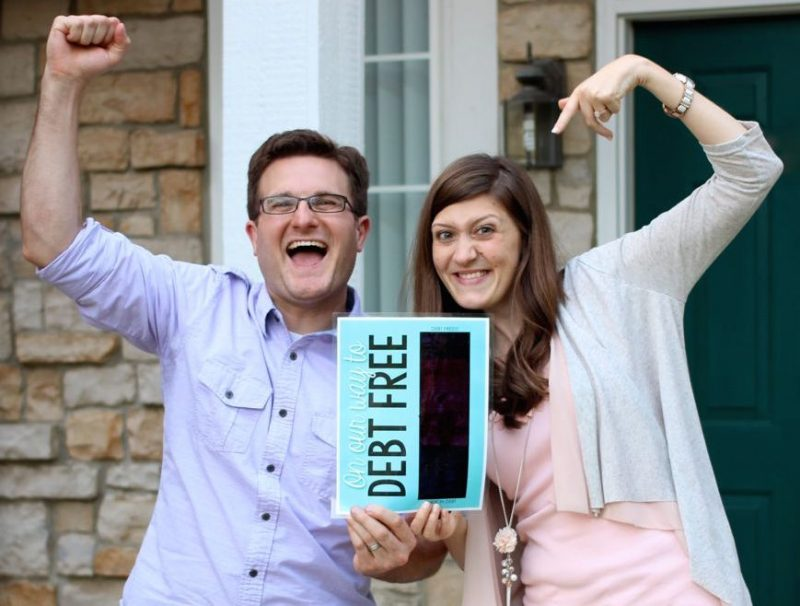 Rob and Maria Debt Free | Crazy Together blog