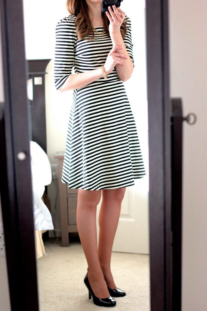 Kathy Striped Fit & Flair dress from Stitch Fix