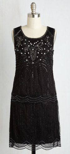 Philharmonic of Time dress in black from Modcloth