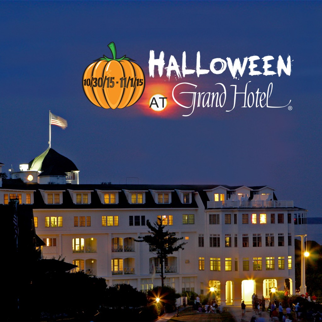 Halloween at the Grand Hotel on Mackinac Island