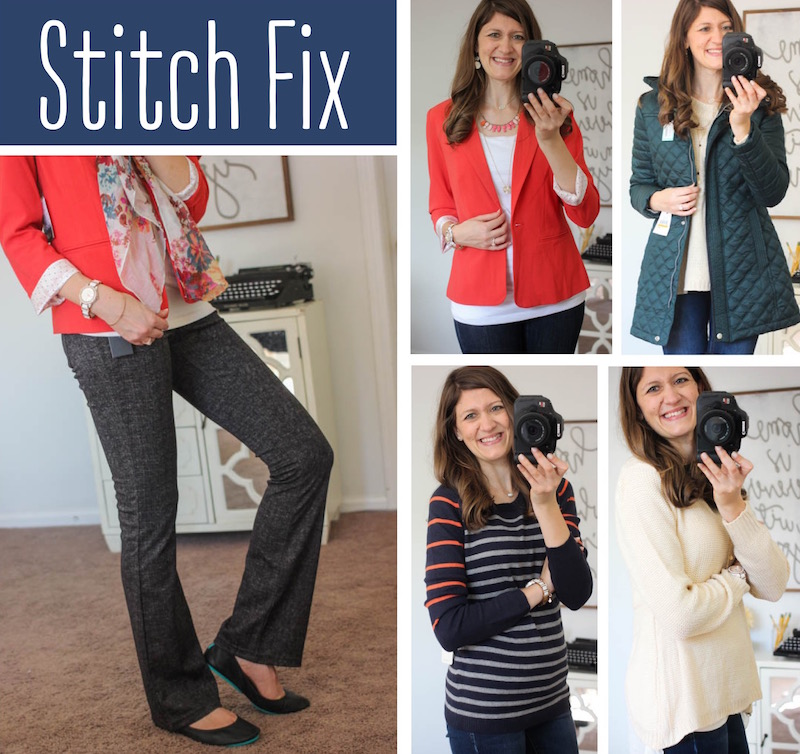 Stitch Fix delivers hand-picked styles direct to your door! Check out what came in this blogger's fix.