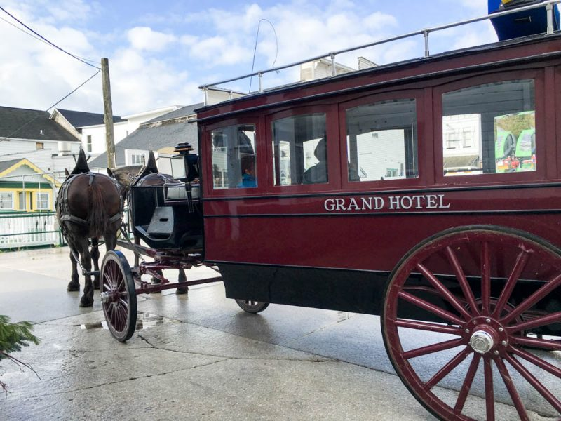 Grand Hotel Mackinac Island Carriage Cab