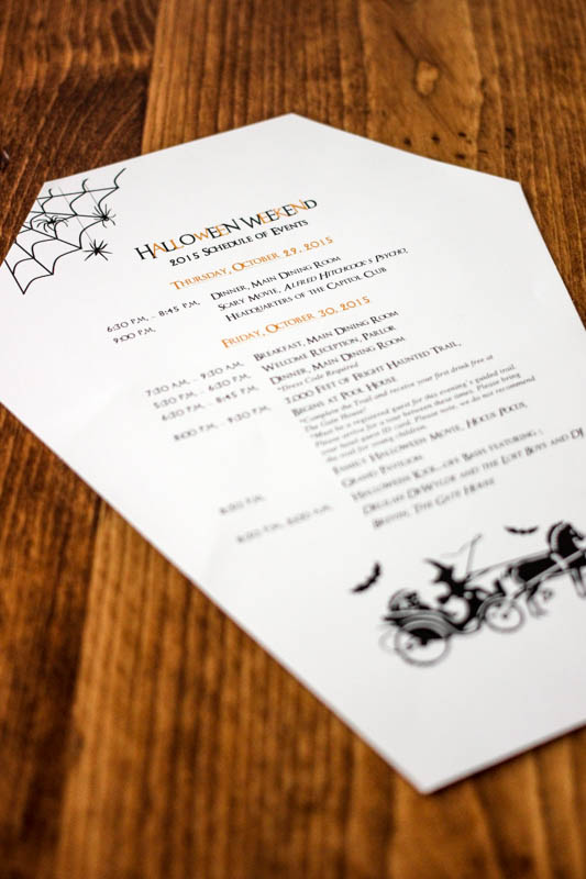 Grand Hotel Mackinac Island Halloween Weekend Schedule