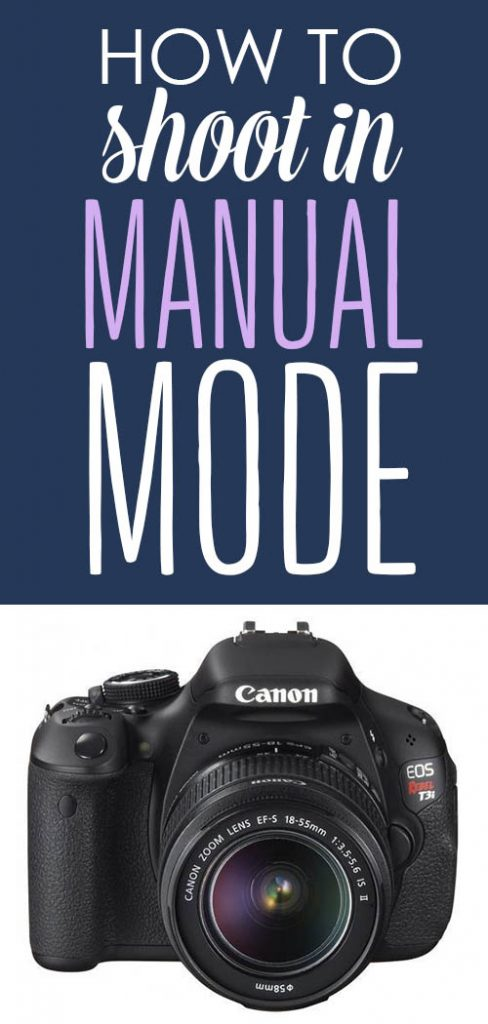 how to shoot in manual mode