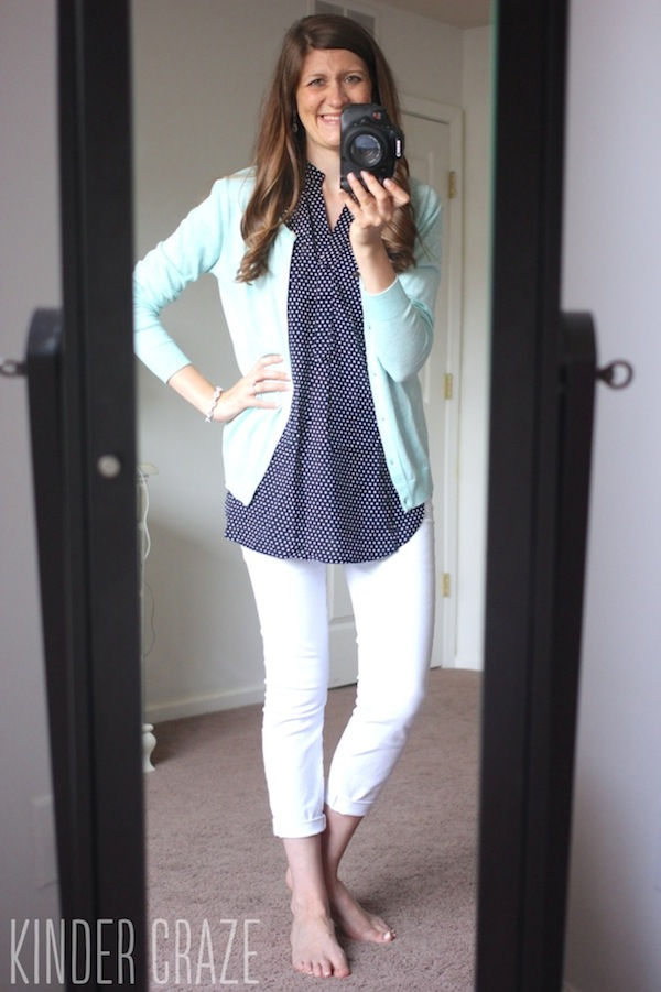 Maria Stitch Fix Selfie with ok lighting