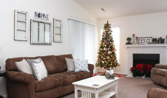 Our Home At Christmas: 2015 Holiday Tour