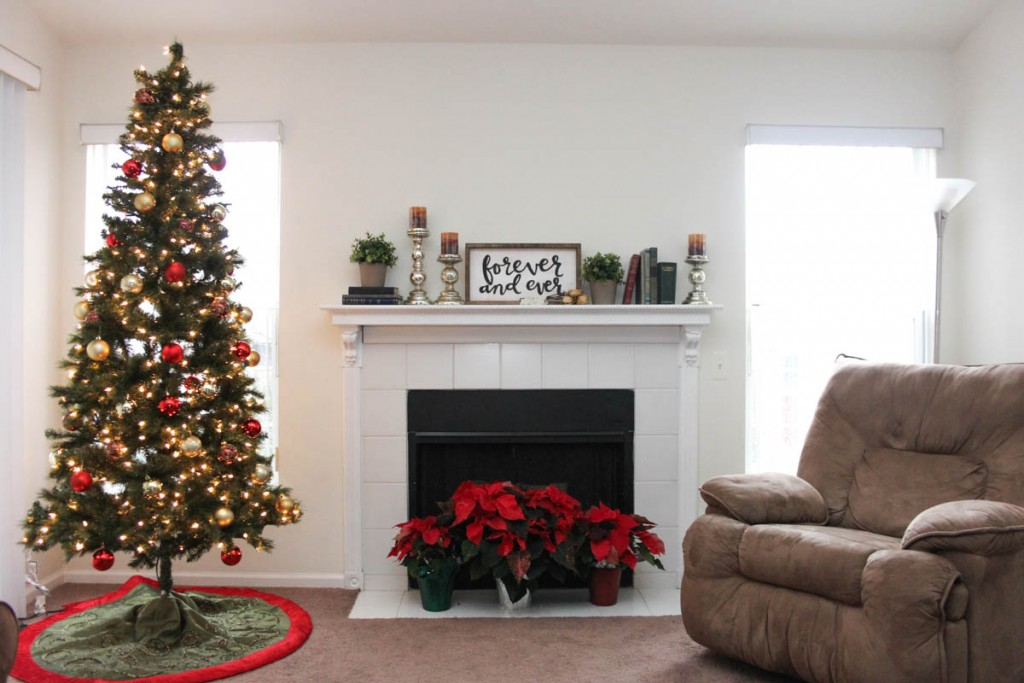 Christmas Home Tour on a budget