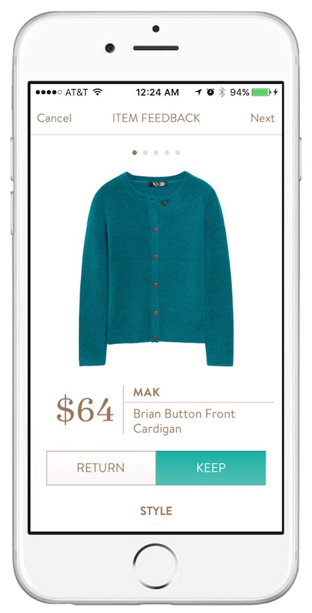 MAK Brian Button Front Cardigan