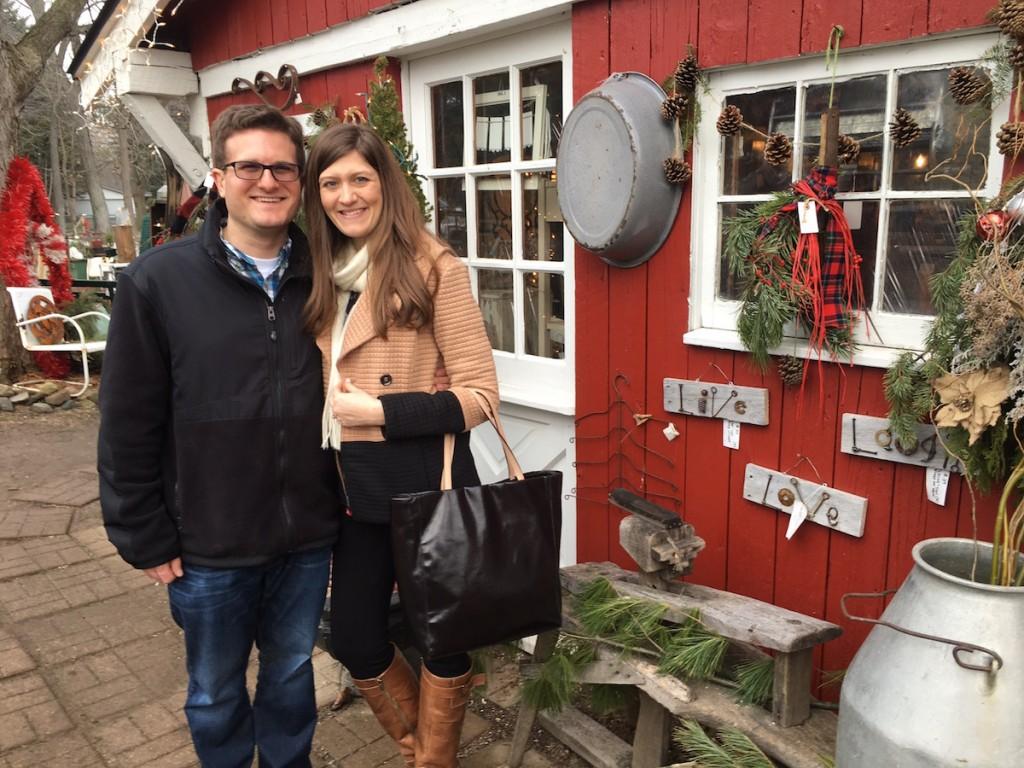 Rob and Maria at the Lambs Tail