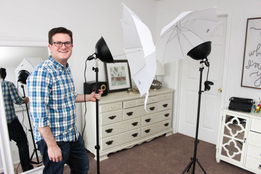 Smith Victor Photoflood Studio Lighting Kit