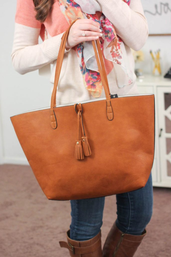 Parvin Reversible Tote from Street Level - January Stitch Fix