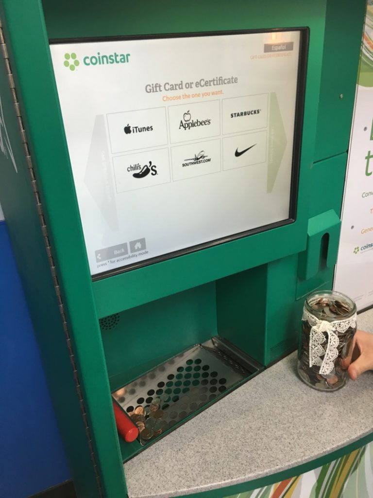 Lessons Learned at the Coinstar Machine