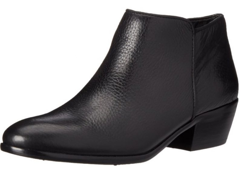 Sam Edelman black womens petty ankle boot