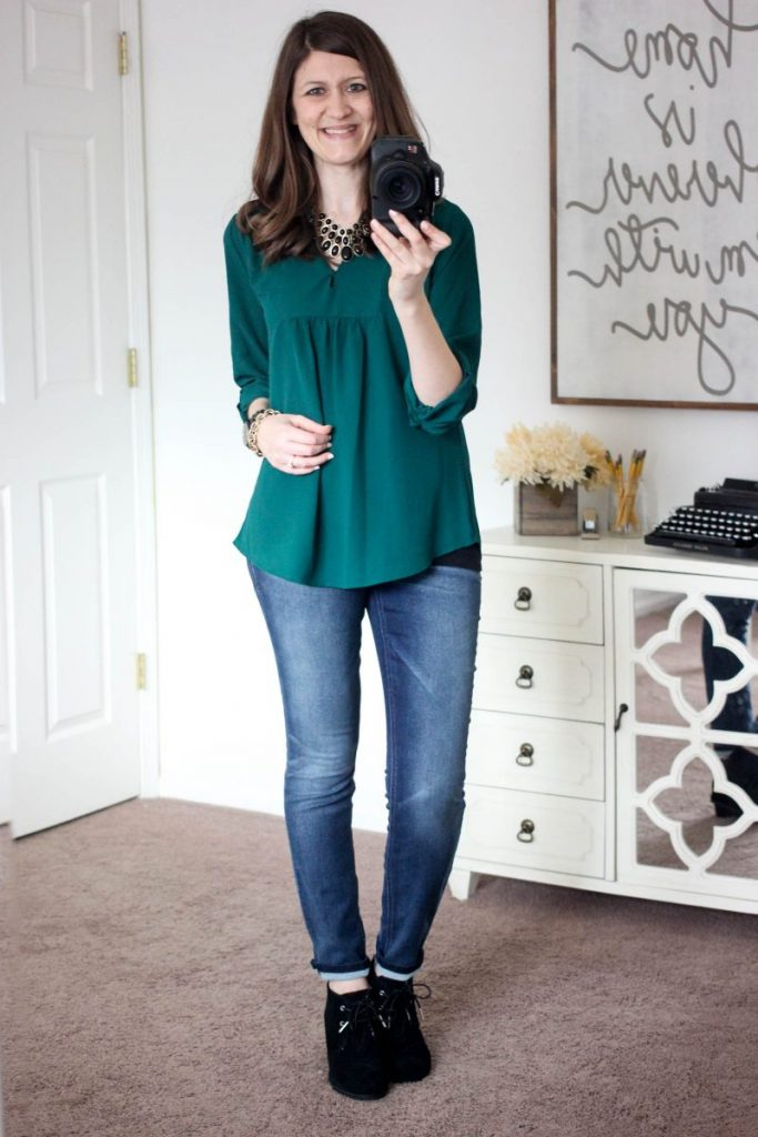 Sylvester Split Neck Blouse from Brixon Ivy - February Stitch Fix